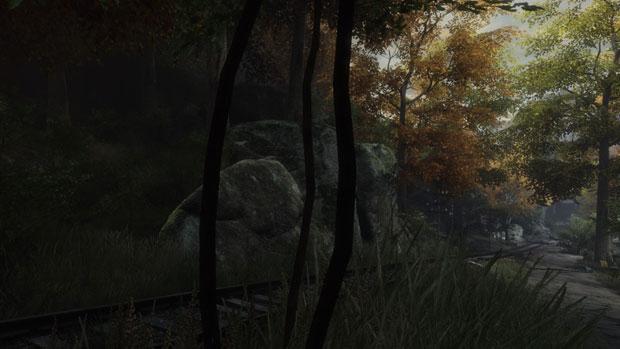 Baum in der Mauser